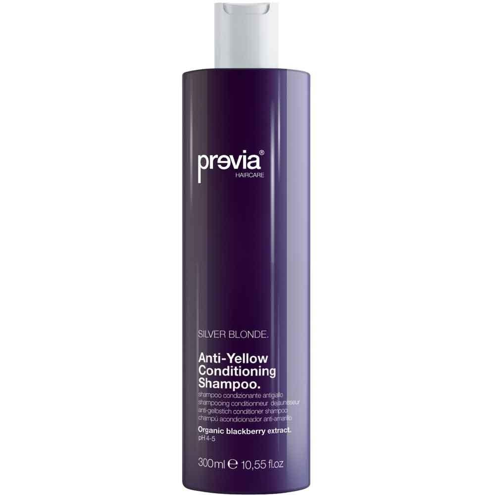 Previa Silver Blonde Anti-Yellow Shampoo 300 ml