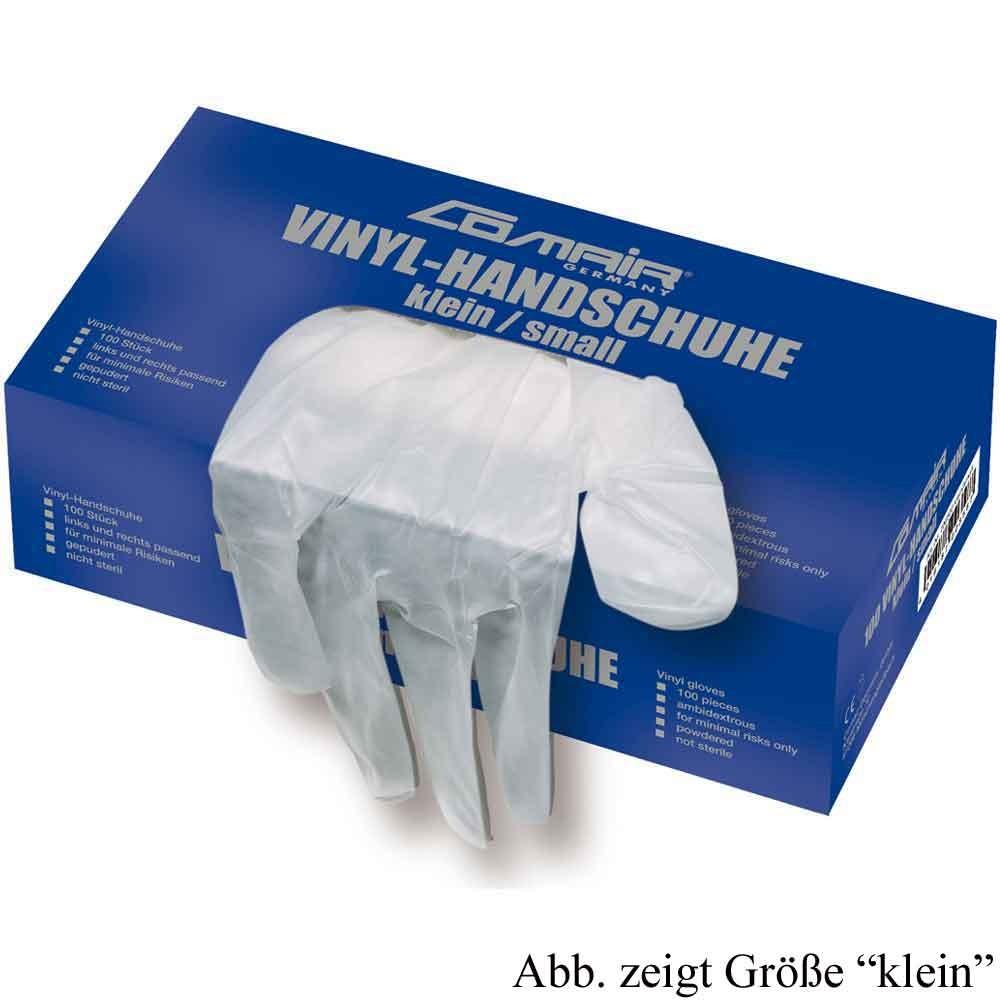 Comair Vinyl-Handschuhe gepudert mittel 100er Box