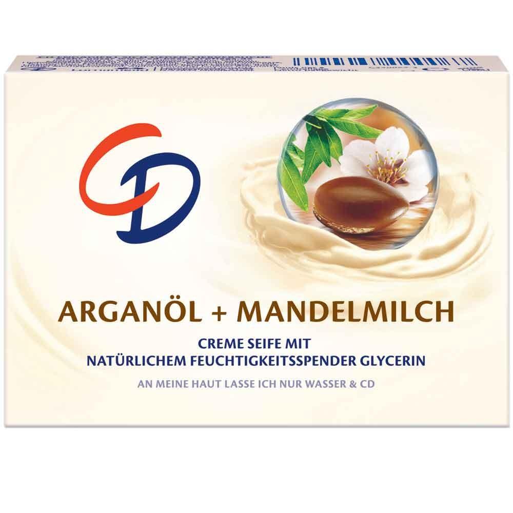 CD Cremeseife Arganöl & Mandelmilch 125 g