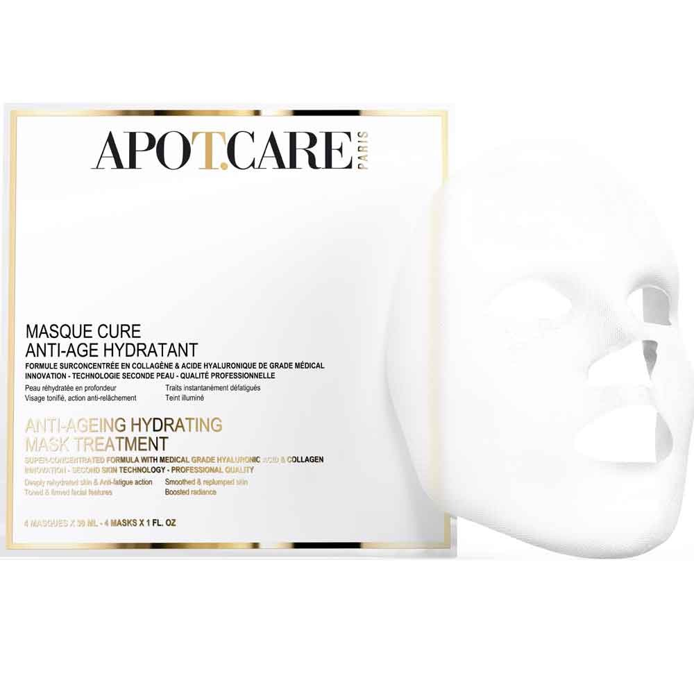 APOT.CARE Anti-Aging Feuchtigkeitsmaske 4 x 30 ml