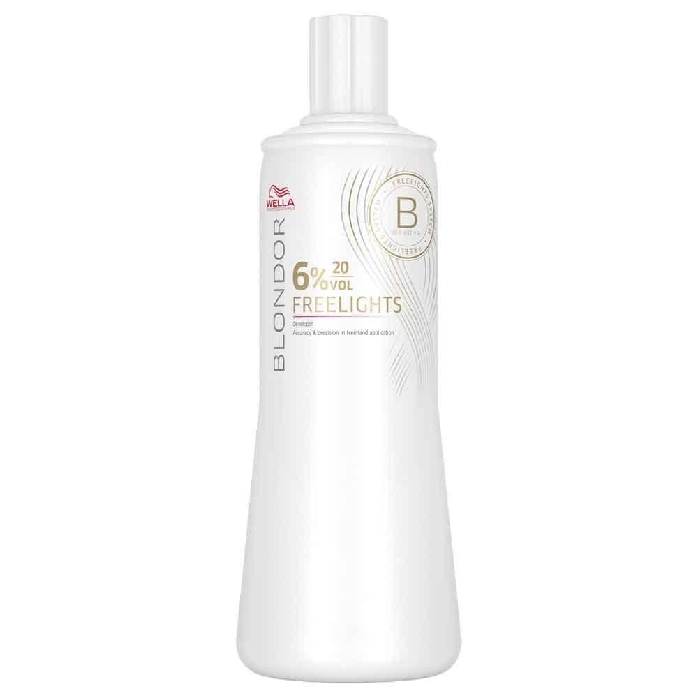 Wella Blondor Freelights Oxidationsmittel 6 % 1000 ml