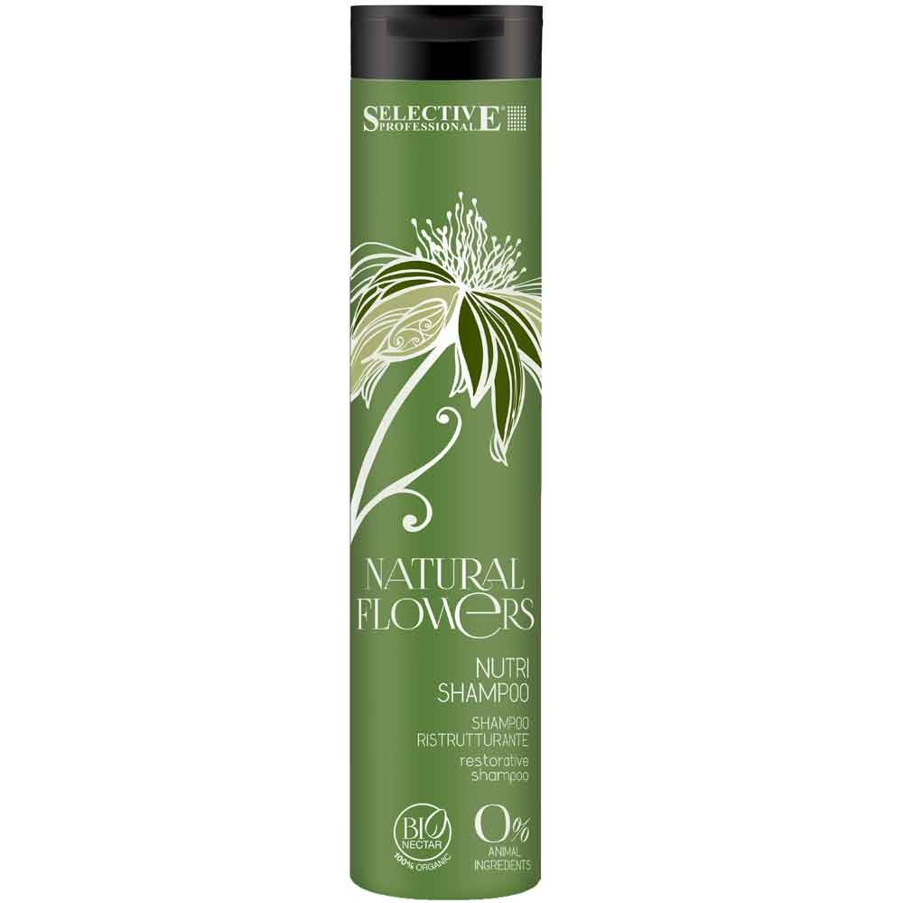 Selective Natural Flowers Nutri Shampoo 250 ml