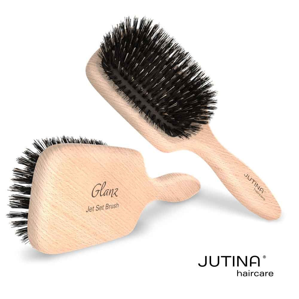 Jutina Haircare Jet Set Glanz Mini Paddle Bürste