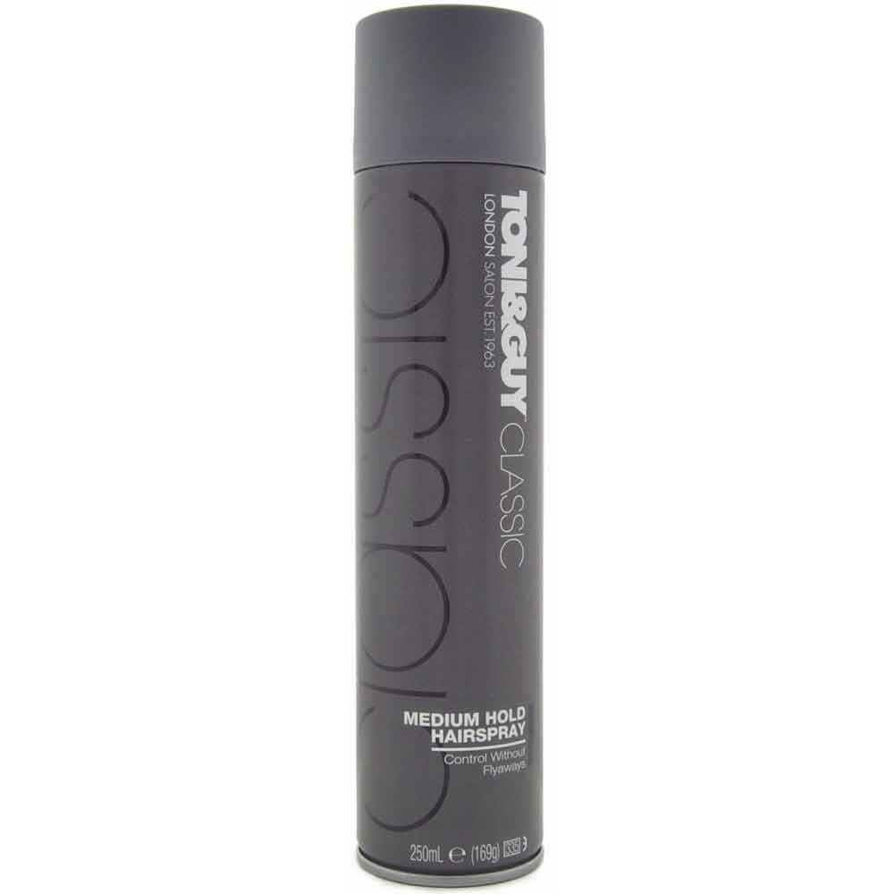 TONI&GUY Classic Medium Hold Hairspray 250 ml