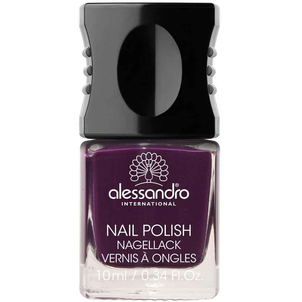 alessandro International Nagellack 45 Dark Violet 10 ml