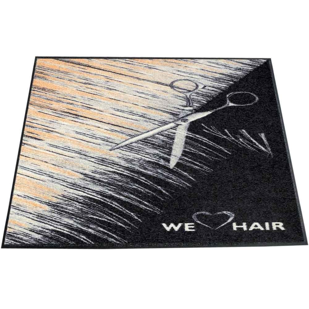 TREND DESIGN Türmatte We love Hair