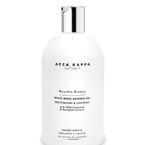 Acca Kappa White Moss Bath Foam & Showergel 500 ml