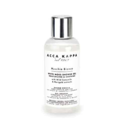Acca Kappa White Moss Bath Foam & Showergel 50 ml