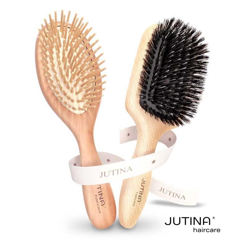Jutina Haircare Bürstenset Jet Set & Long Hair Care