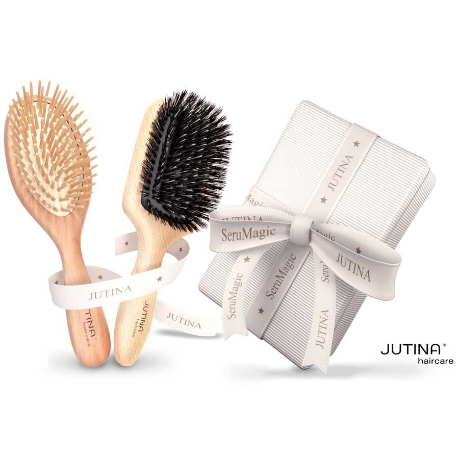 Jutina Haircare Bürstenset Jet Set & Long Hair Care
