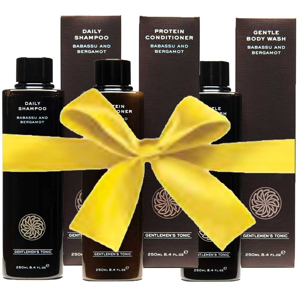 Gentlemen's Tonic B&B Shower Gift Set
