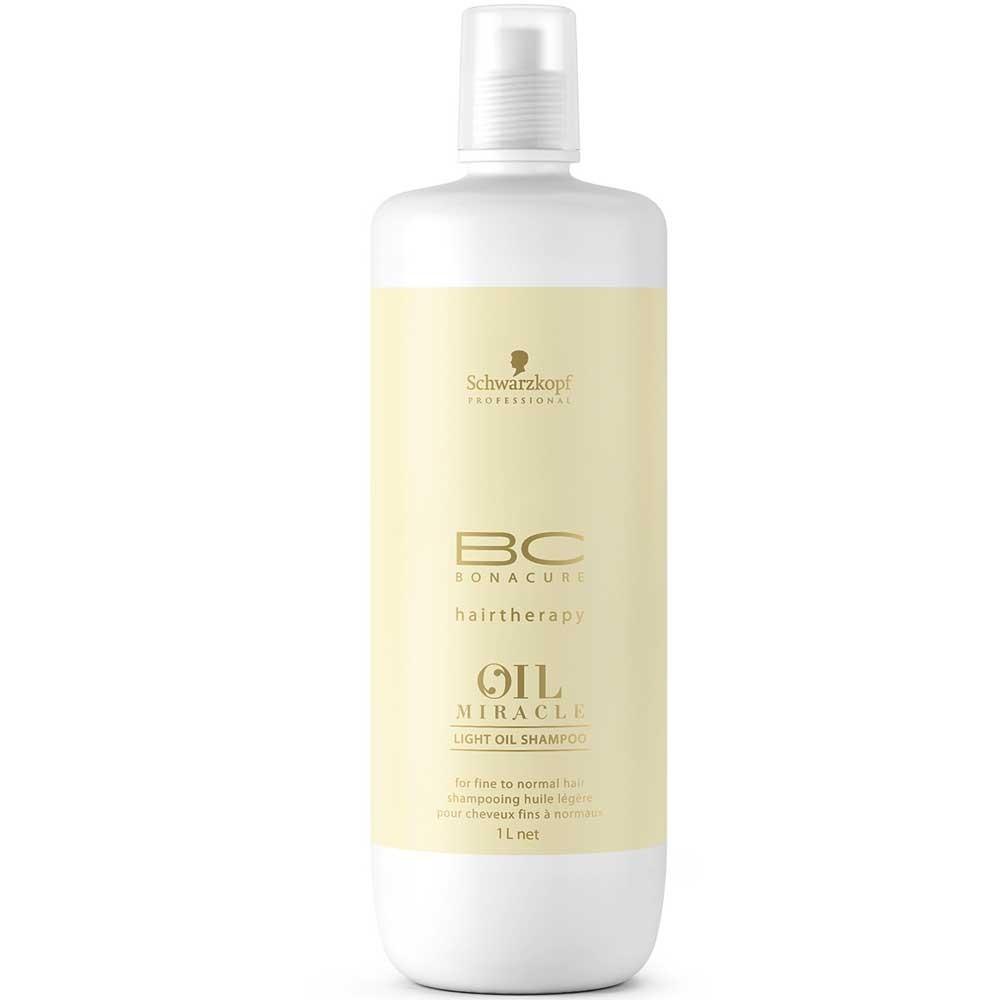 Schwarzkopf BC Bonacure Oil Miracle Leichtes Öl Shampoo 1000 ml