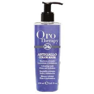 Fanola Oro Therapy Farbmaske anti-yellow 250 ml