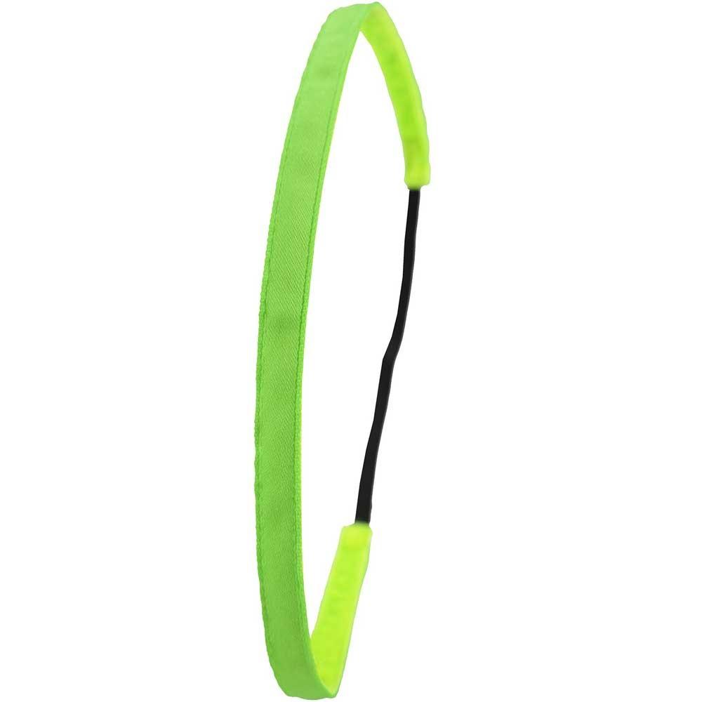 Ivybands Neon Green Super Thin Haarband