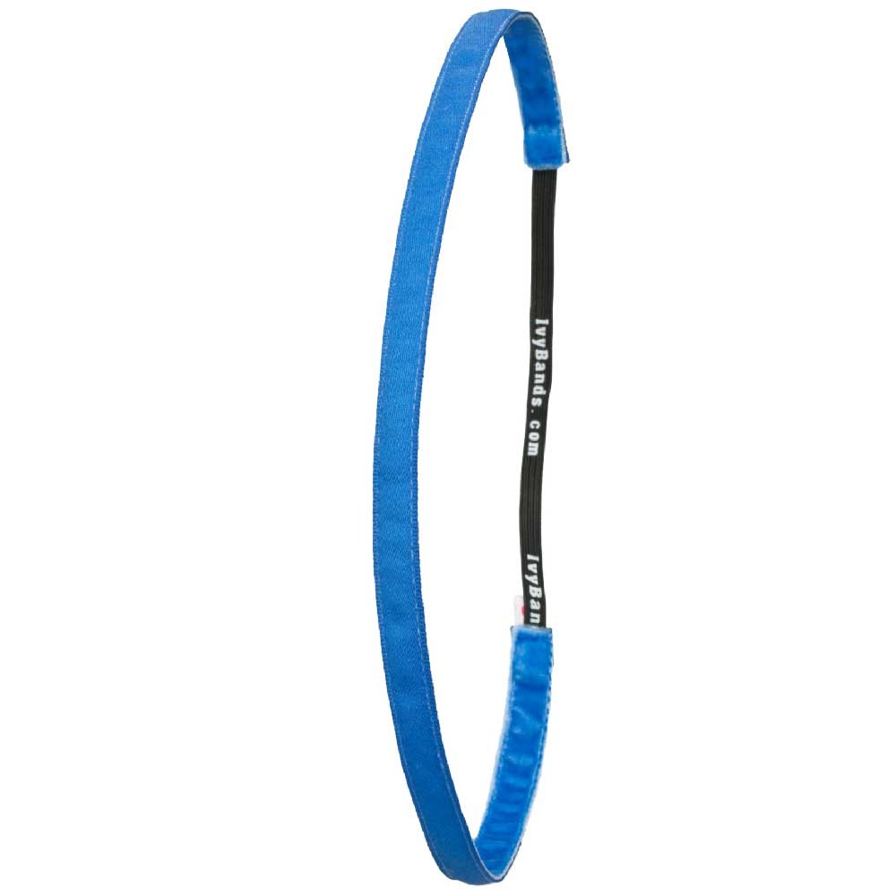 Ivybands Colani Blaues Super Thin Haarband