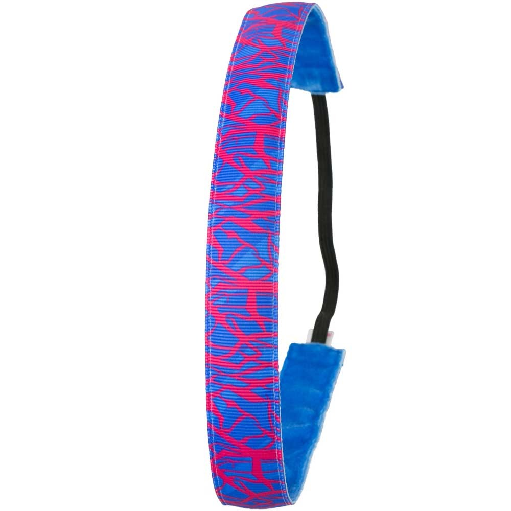Ivybands Special Neon Pink Blue Haarband