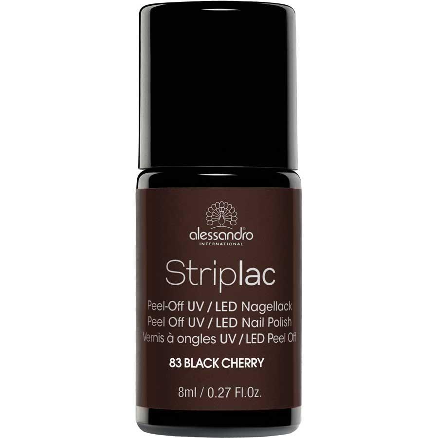 alessandro International Striplac 83 Black Cherry 8 ml