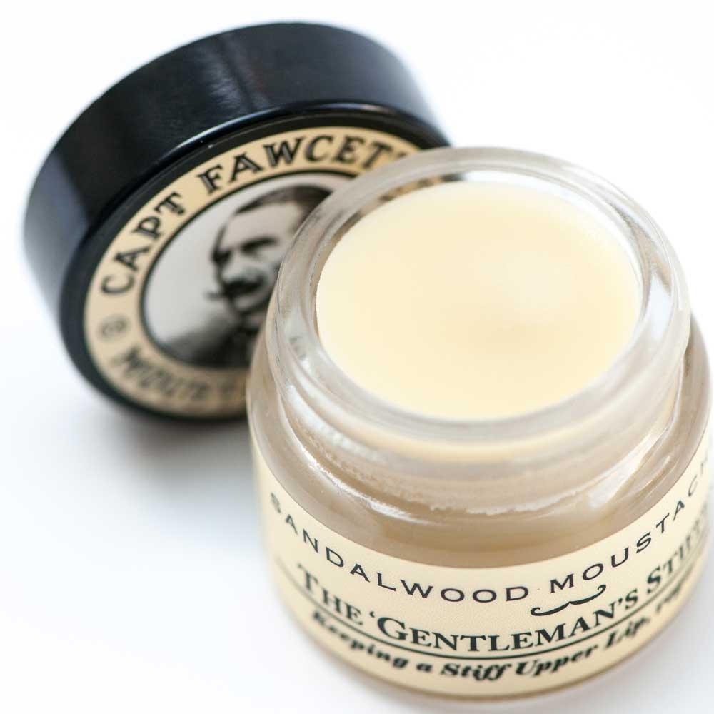 Captain Fawcett's Moustache Wax sandelholz 15 g