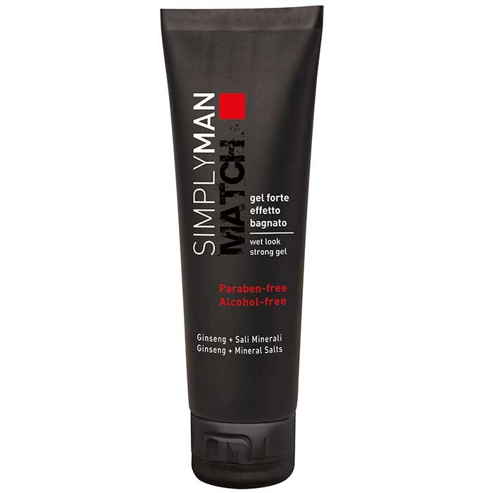 Simply Man Wet-Look-Haargel Starker Halt 150 ml