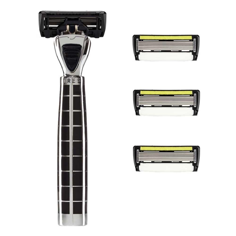 Shave-Lab Starter Set Tres Black P.6+1 Men