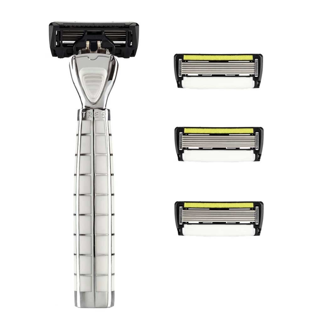 Shave-Lab Starter Set Tres White P.6+1 Men