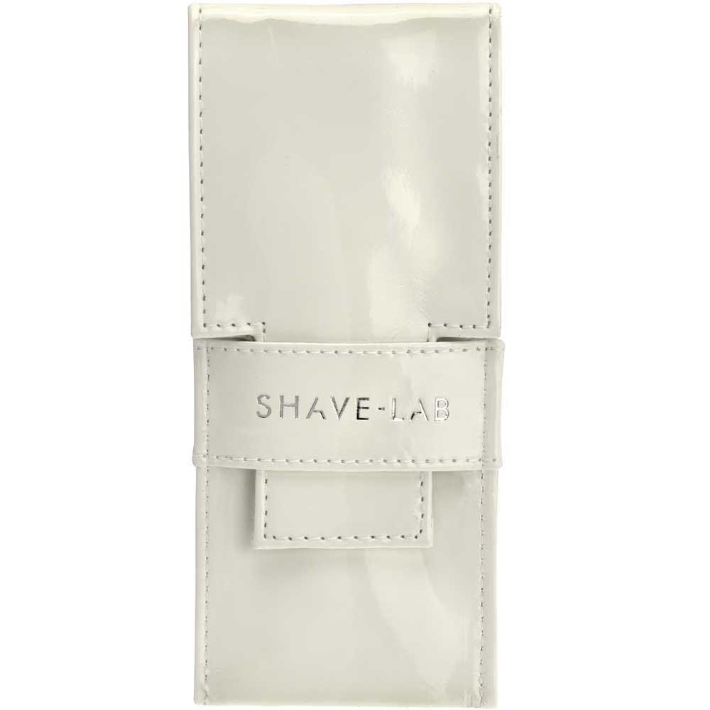Shave-Lab Reiseetui White Klavier-Lack Canvas