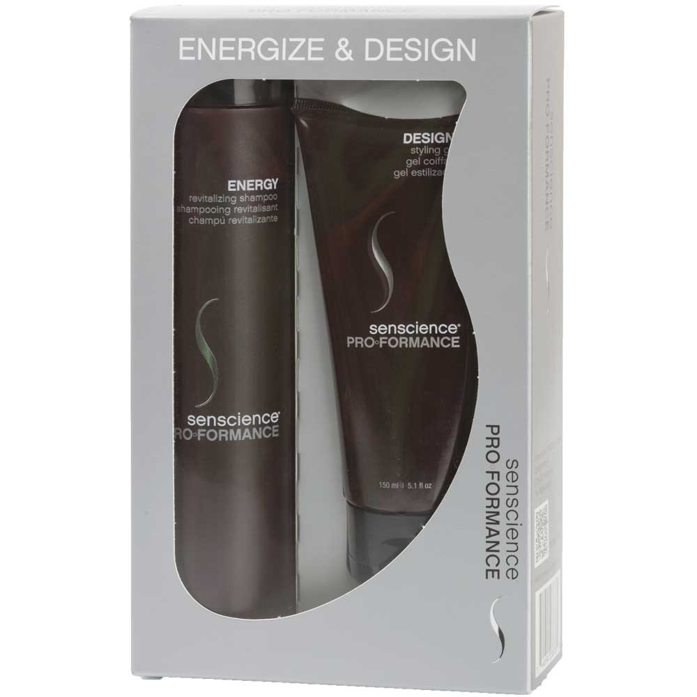 Senscience PROformance Energize & Design Set