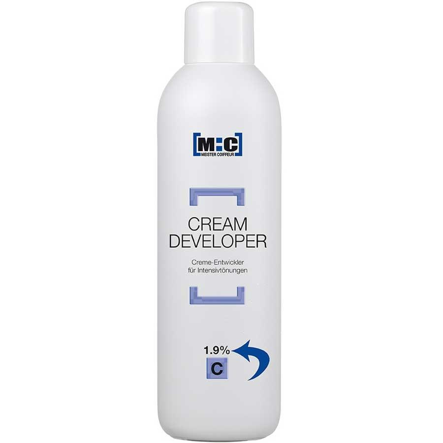 M:C Meister Coiffeur Cream Developer 1,9 C 1000 ml