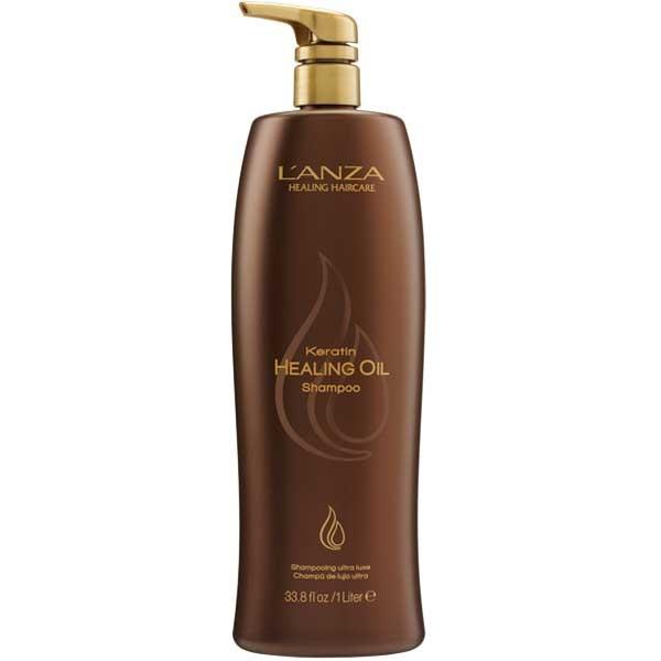 Lanza Keratin Healing Oil Shampoo 1000 ml