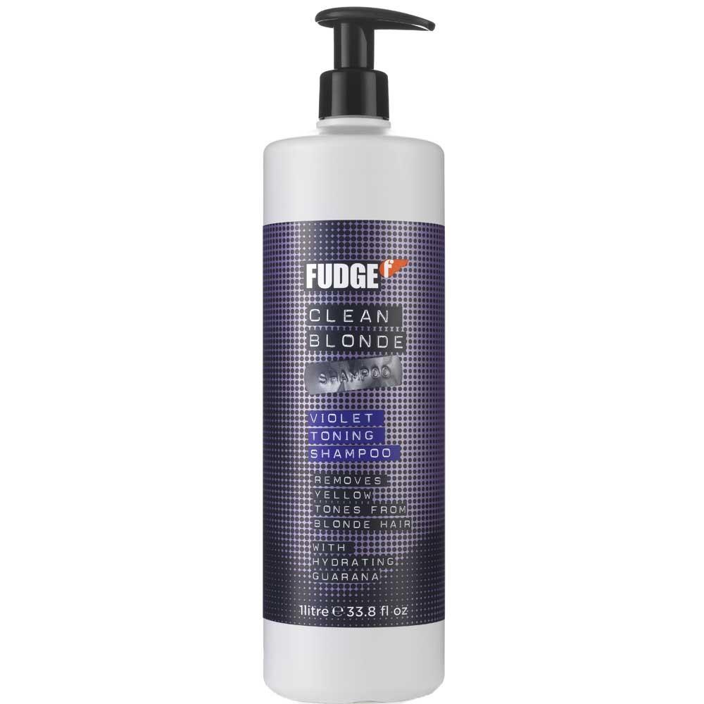 Fudge Clean Blonde Violet Toning Shampoo 1000 ml