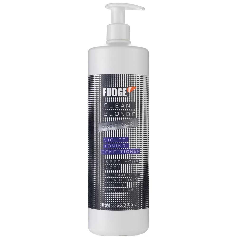 Fudge Clean Blonde Violet Toning Conditioner 1000 ml
