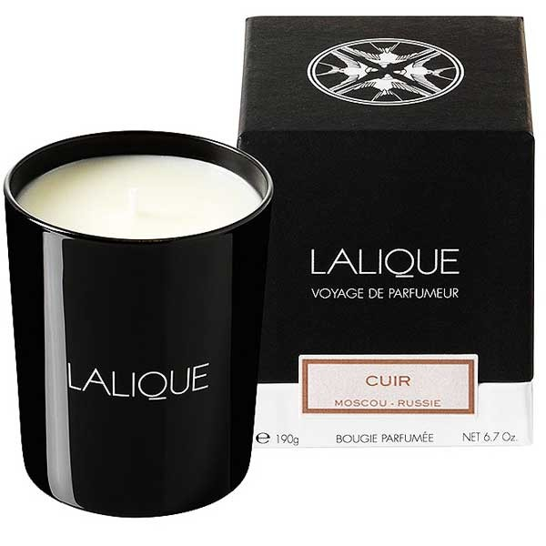 Lalique Cuir - Moscou Candle 190 g