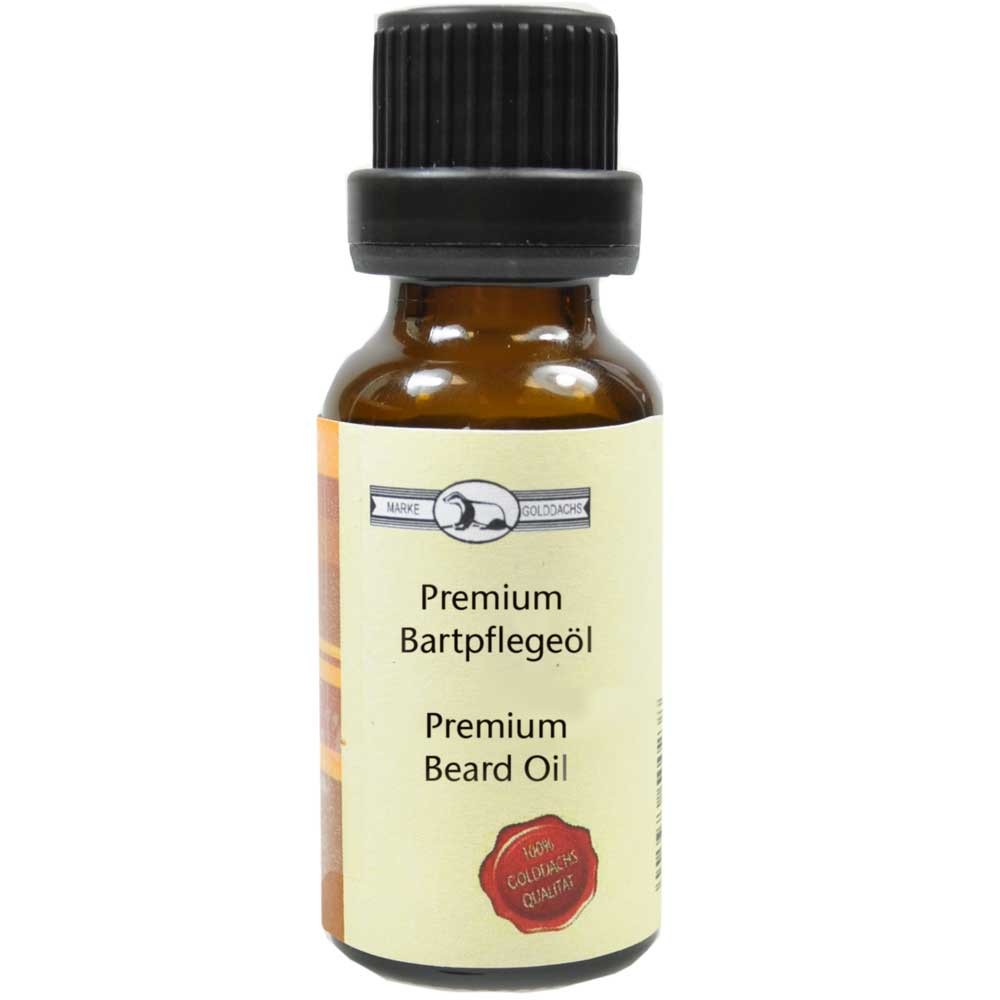 Golddachs Premium Bartpflege-Öl 20 ml