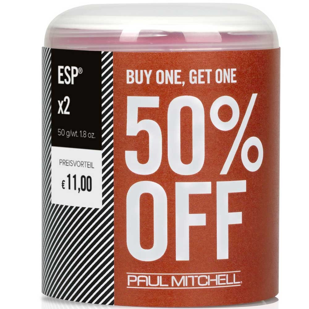 Paul Mitchell Buy one, get one 50% OFF Elastic Shaping Paste 2 x 50g