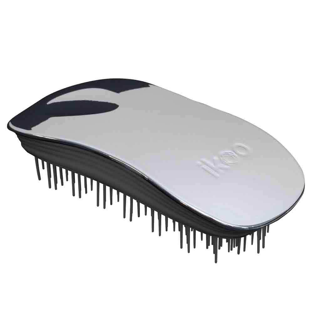 ikoo brush HOME black - oyster metallic