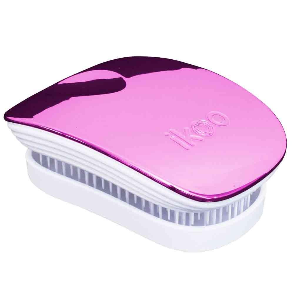 ikoo brush POCKET white - cherry metallic