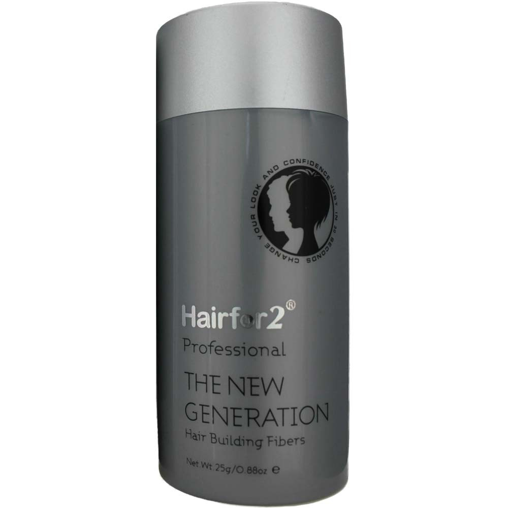 Hairfor2 Hair Building Fibers Ash Brown 25 g