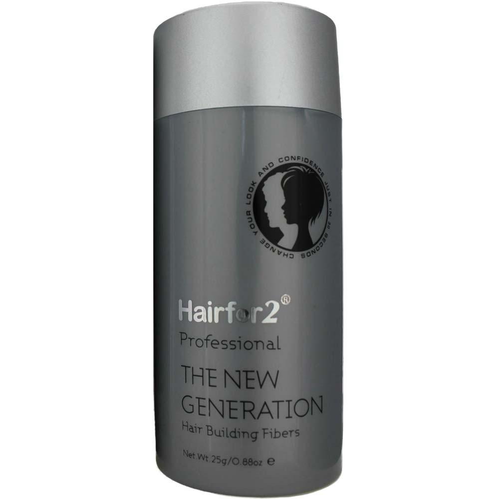 Hairfor2 Hair Building Fibers Medium Brown 25 g