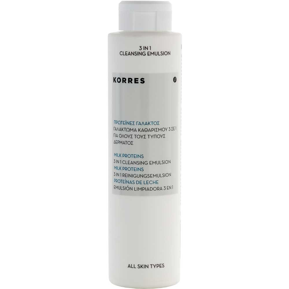 Korres Milk Proteins 3in1 Reinigungsemulsion 200 ml
