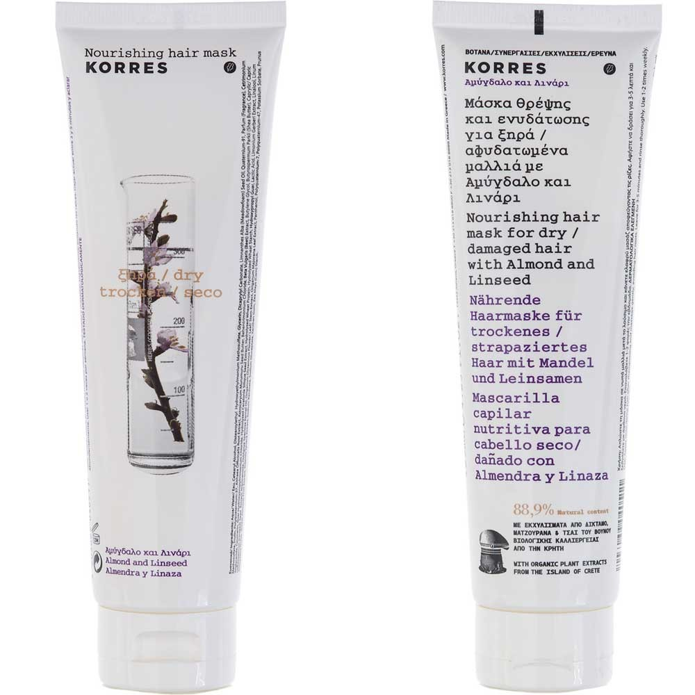 Korres Almond & Linseed Mask 125 ml