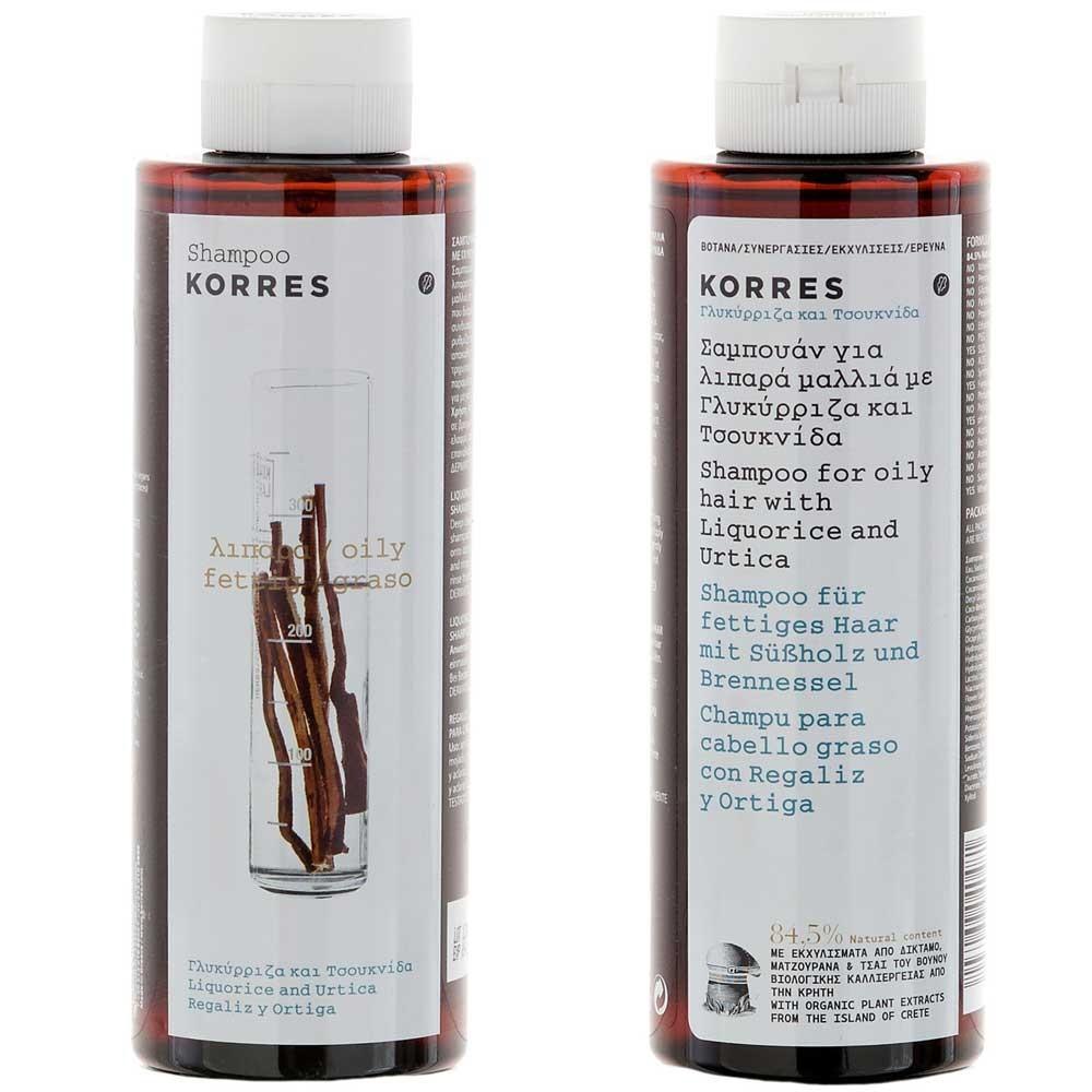 Korres Liquorice & Urtica Shampoo 250 ml