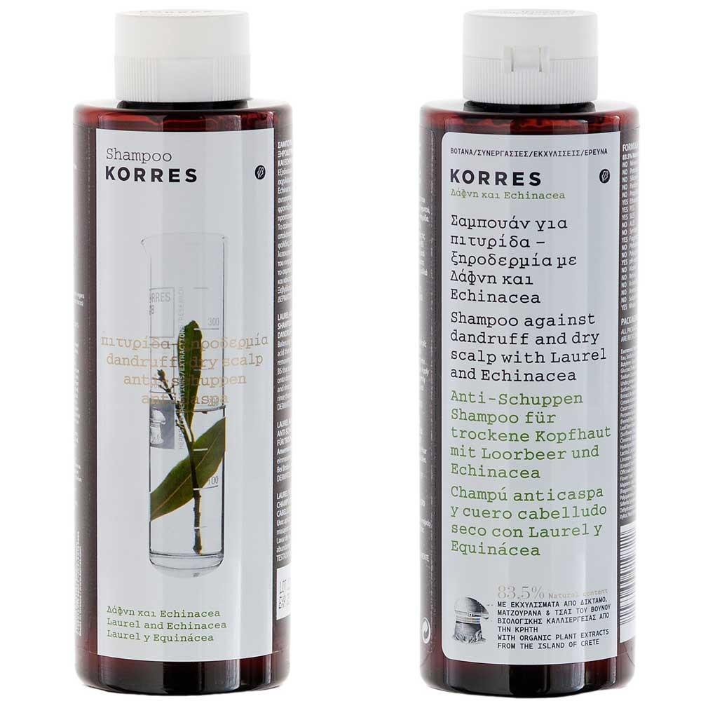 Korres Laurel & Echinacea Shampoo 250 ml
