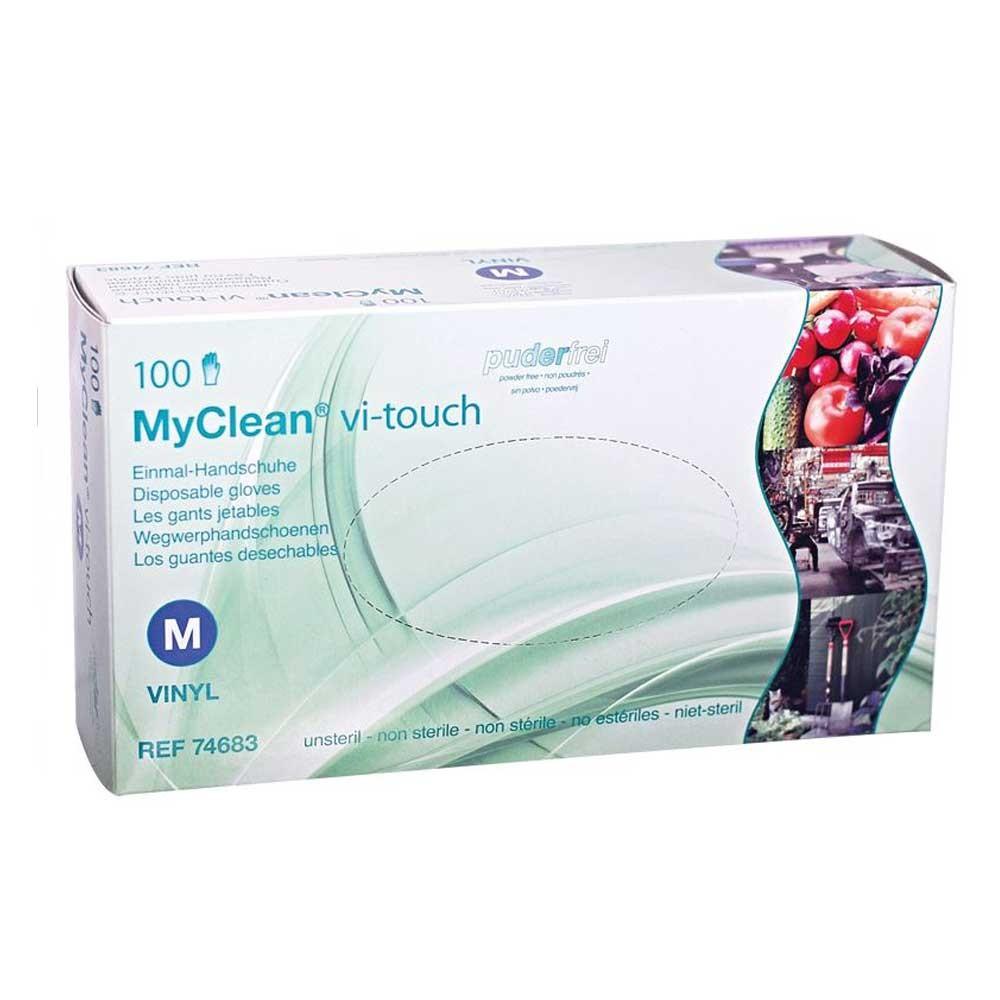 MaiMed MyClean vi-touch Vinylhandschuhe - M