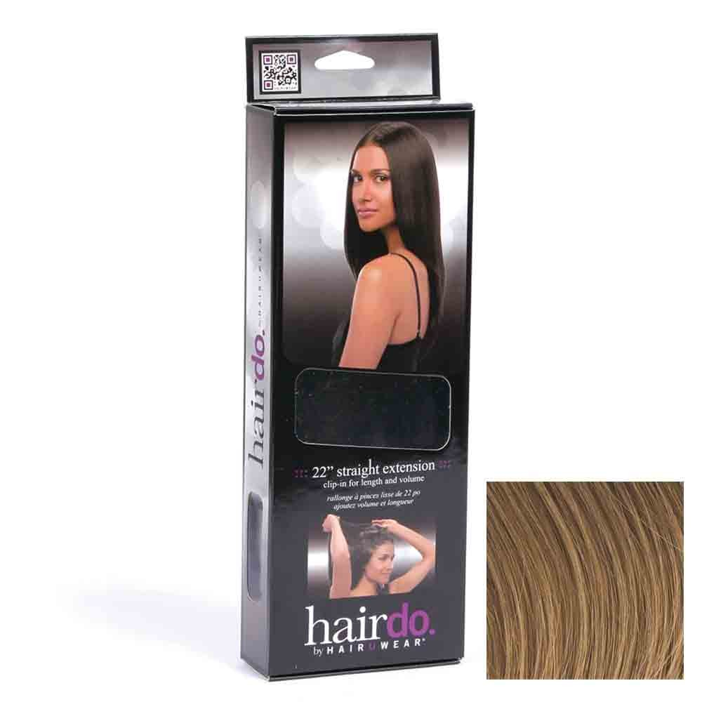 Hairdo Haarteil Clip in Straight Extension R14 Buttered Toast 55 cm