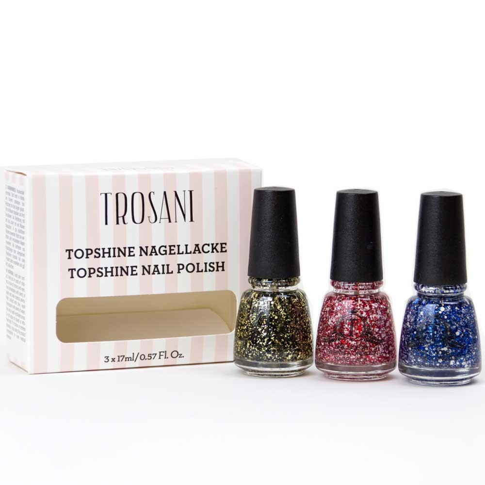 Trosani Glitter Queen Set 3 x 17 ml I