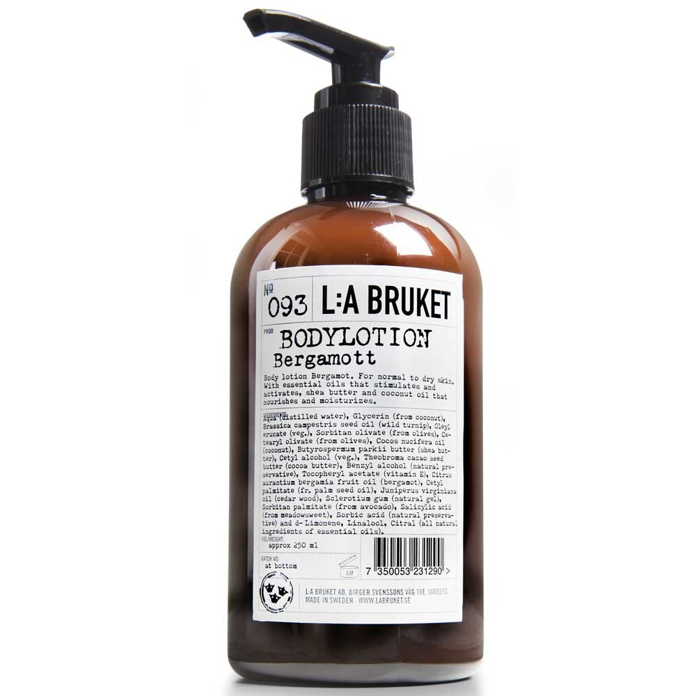 L:A BRUKET No. 93 Body Lotion Bergamotte/Patchouli 250 ml