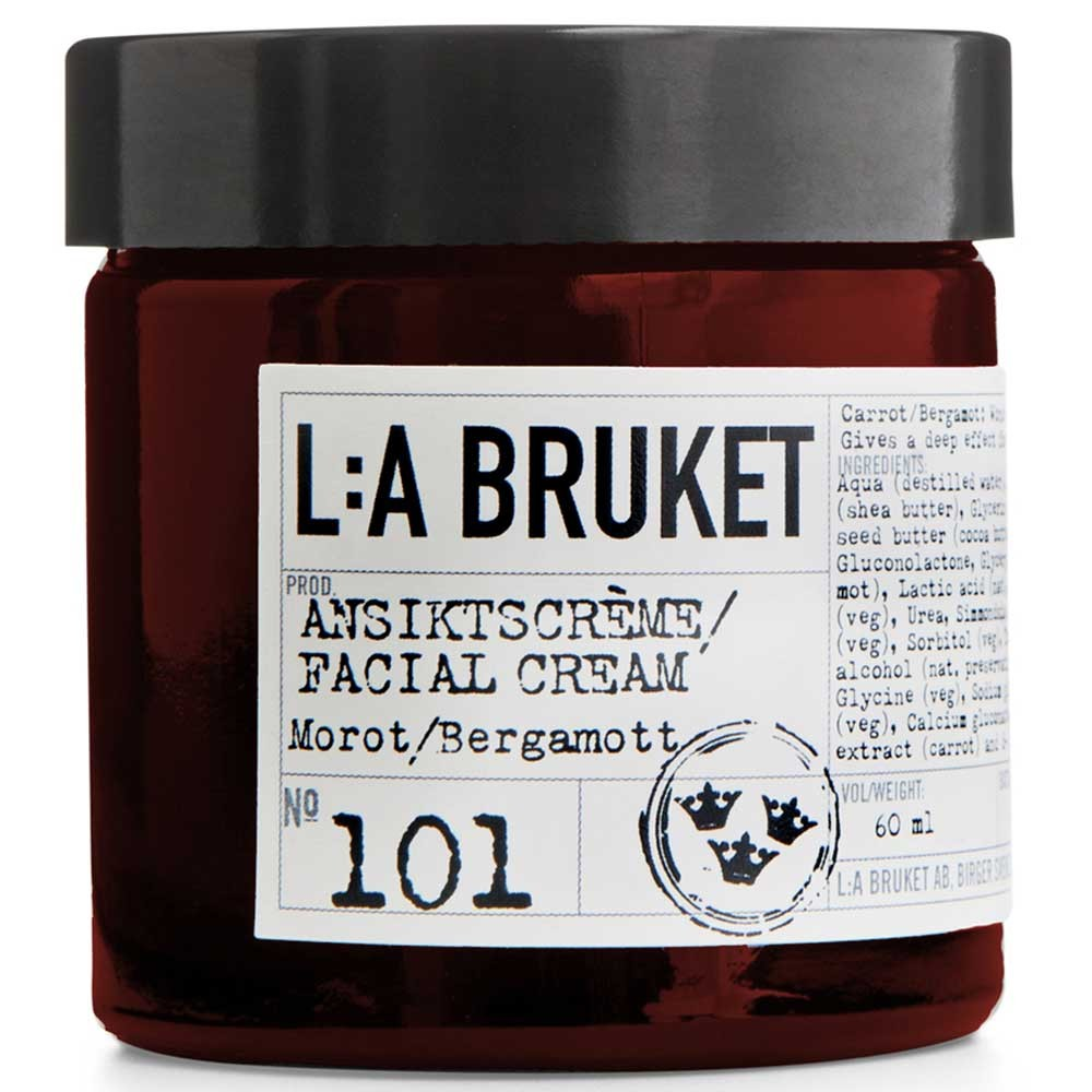 L:A BRUKET No. 101 Face Cream Karotte/Bergamotte 60 ml