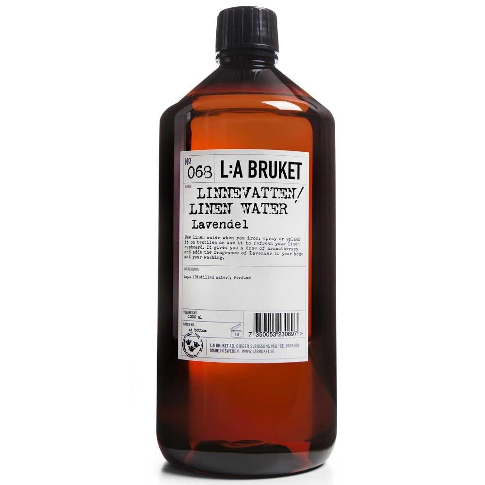 L:A BRUKET No. 68 Linen Water Lavendel 1000 ml
