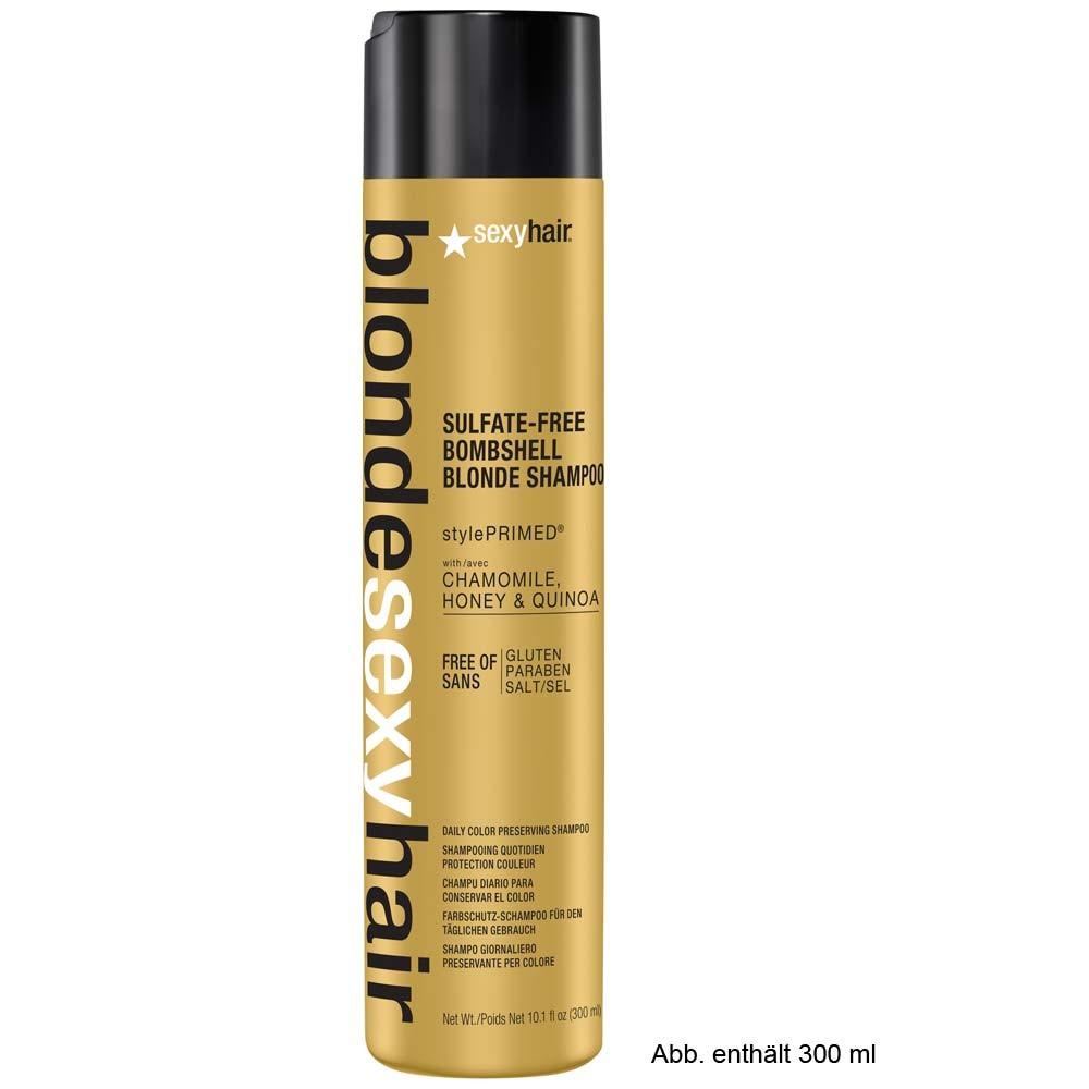 sexy hair blonde bombshell shampoo 1000ml g nstig kaufen hagel online shop. Black Bedroom Furniture Sets. Home Design Ideas