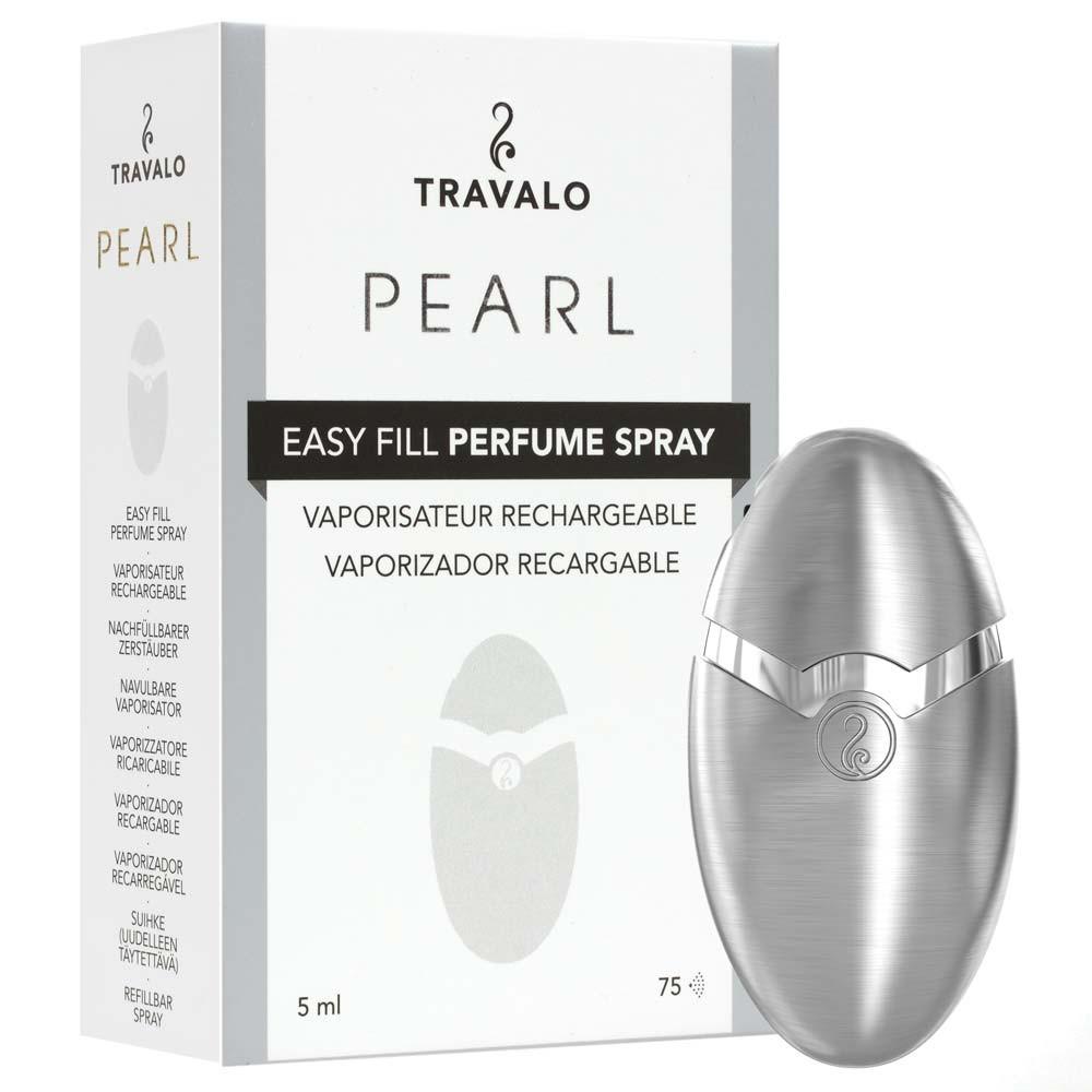 TRAVALO Pearl Taschenzerstäuber Silber